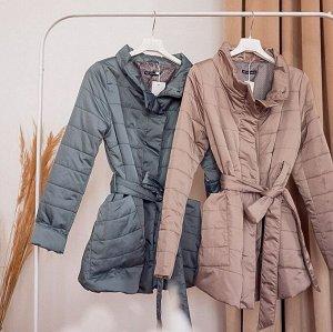 """Куртка демис. 2в1 """"Корсика"""" для беременных; цвет: патина"""