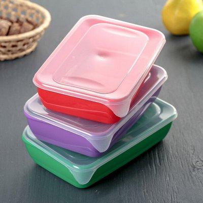 Посуда. На каждый день и на все случаи — Контейнеры для хранения продуктов — Контейнеры и ланч-боксы