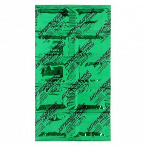Пластины от комаров по Оборонхим без запаха, зеленые, 10 шт