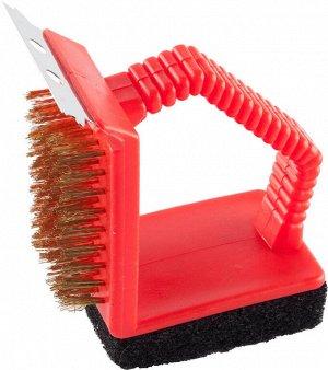 Щетка для чистки мангалов и решеток