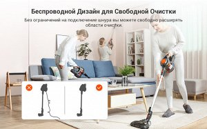 Беспроводной пылесос iLife H50