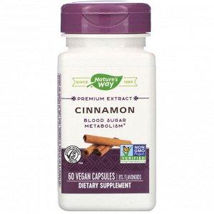 Nature&#x27 - s Way, Cinnamon, 60 Vegan Capsules