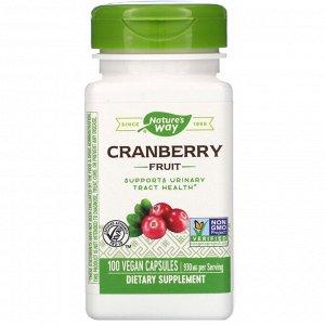 Nature&#x27 - s Way, Cranberry Fruit, 930 mg, 100 Vegan Capsules