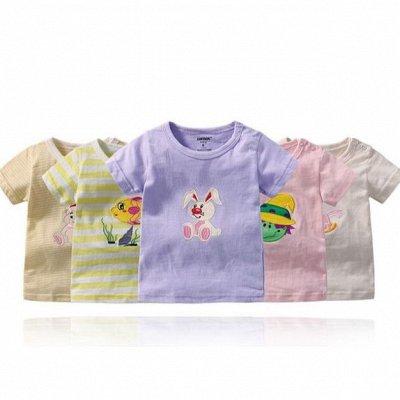👶 Всё для малыша  👶 Одежда, обувь, полезности — Футболки, майки для малышей. Наборы по 5 штук — Кофты и футболки