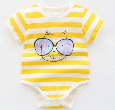 👶 Всё для малыша  👶 Одежда, обувь, полезности  — Боди. Короткий рукав. Кол.2. — Боди и песочники
