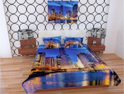 ™ВИКТОРИЯ - постельное белье от 775 руб, текстиль, трикотаж  — Покрывала. Фотопокрывала — Спальня и гостиная