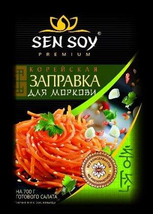Заправка «Для моркови по-корейски» SenSoy, 80 гр