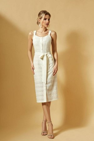 Платье DiLiaFashion Артикул: 0364 кремовый