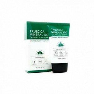 Some By Mi Truecica Mineral 100 Calming Suncream Успокаивающий солнцезащитный крем 50мл