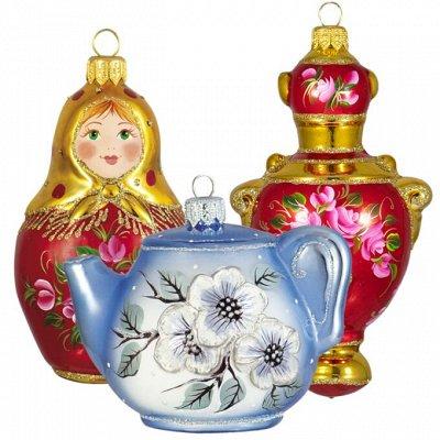 Ёлочные игрушки Ариэль-2020 — Коллекции Чайная роза и Жасмин — Украшения для интерьера