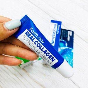 Бальзам для губ с коллагеном Farm Stay Real Collagen Essential Lip Balm, 10ml