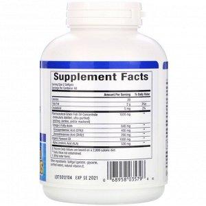 Natural Factors, RxOmega-3 и льняное масло, 120 мягких желатиновых капсул