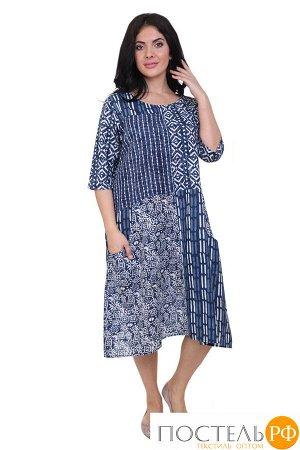 Платье Jesca Цвет: Синий, Белый (58). Производитель: Ганг
