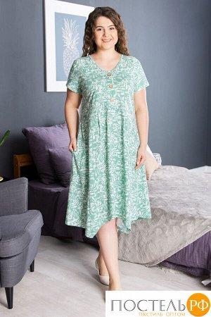 Платье Веточки Цвет: Зелёный (54). Производитель: ModaRu