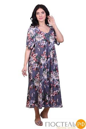 Платье (вискоза) №19-075-6-1 free size(48-54)
