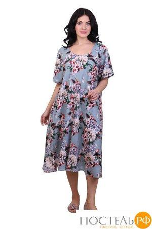 Платье (вискоза) №19-075-5-1 free size(48-54)