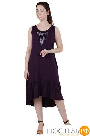 Сарафан Монисто Цвет: Фиолетовый (52). Производитель: Оптима Трикотаж