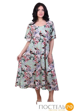 Платье (вискоза) №19-075-7-1 free size(48-54)