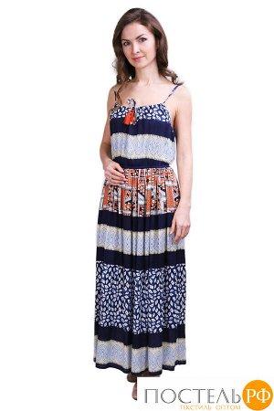 Платье Perette Цвет: Синий, Мультиколор (44). Производитель: Ганг