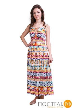 Платье Charming Цвет: Белый, Мультиколор (44). Производитель: Ганг
