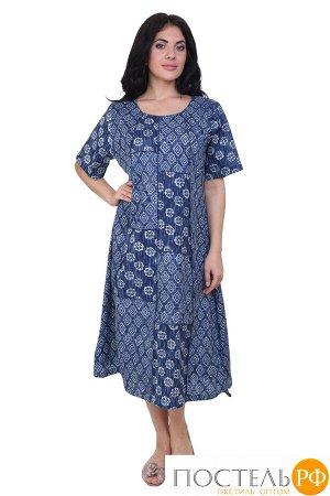 Платье Karolina Цвет: Синий, Белый (54-56). Производитель: Ганг