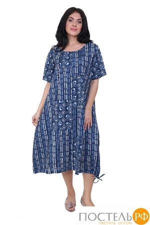 Платье Jezebel Цвет: Синий, Белый (50-52). Производитель: Ганг