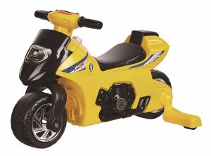 Мотоцикл для катания детей (толокар) 617  (желтый)