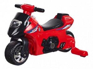 Мотоцикл для катания детей (толокар) 617  (красный)