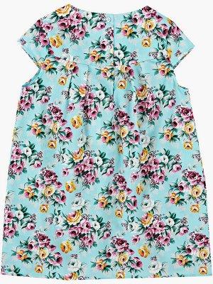 Платье (80-92см) UD 4141(1)бир.цветы