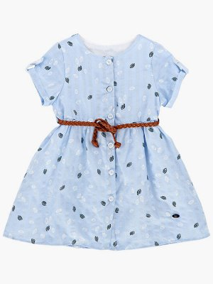 Платье (98-122см) UD 6540(2)голубой