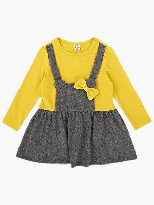 Платье UD 6905 горчица