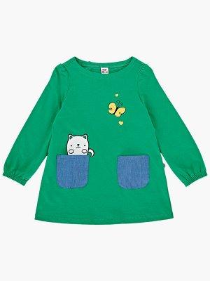 Платье (80-92см) UD 2344(1)зеленый
