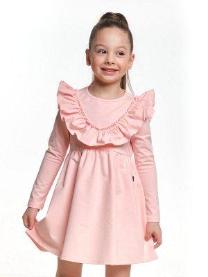 Платье UD 6961 крем-роз