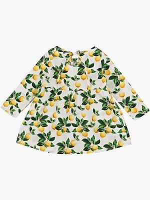 Платье (92-116см) UD 7091(1)лимон