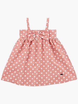 Платье (92-116см) UD 6254(1)роз горошек