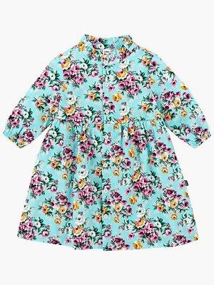Платье (92-116см) UD 2140(2)бир/розы