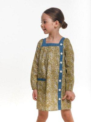 Платье (98-122см) UD 2455(1)хаки