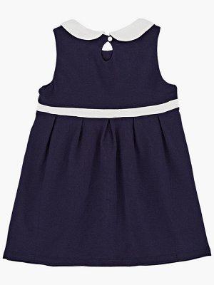 Платье (98-122см) UD 1472 синий