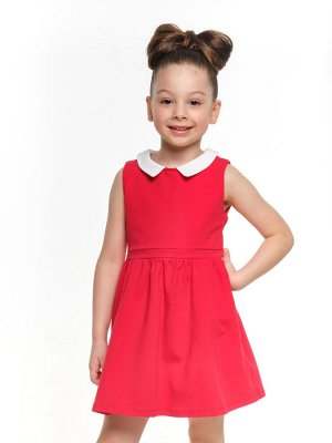 Платье c воротничком (92-116см) UD 1500(2)красный