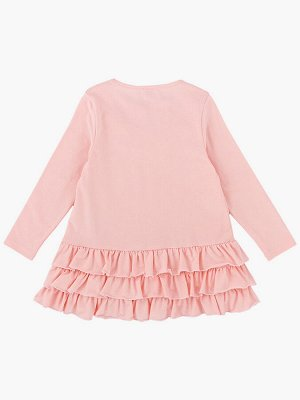 Платье (98-122см) UD 6783(1)крем-роз