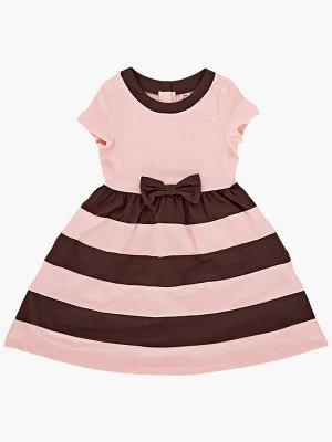 Платье UD 2879 крем-роз