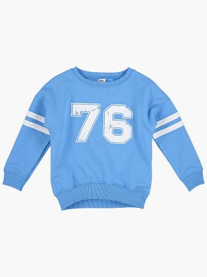 "Джемпер ""76"" (98-116см) UD 1347(2)голубой"
