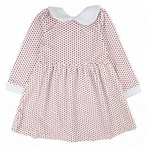 Платье велюр 579в для девочки
