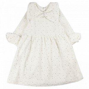 Платье велюр 081В для девочки