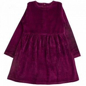 Платье велюр 562в для девочки