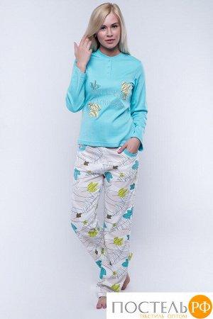 Пижама Veronika Цвет: Бирюзовый. Производитель: Cascatto