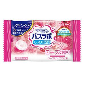 """""""Hakugen"""" """"Bath King"""" Соль для ванны с восстанавливающим эффектом на основе углекислого газа. Аромат розы (1 таблетка) 45гр."""