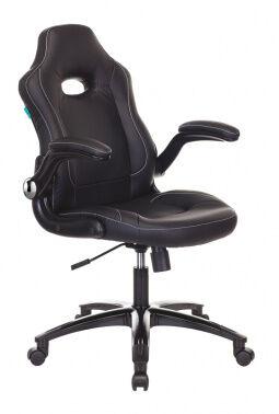 Кресло игровое Бюрократ VIKING-1N черный искусственная кожа крестовина пластик