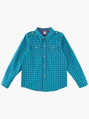 Сорочка (рубашка) (92-116см) UD 3581(1)зелен.кл