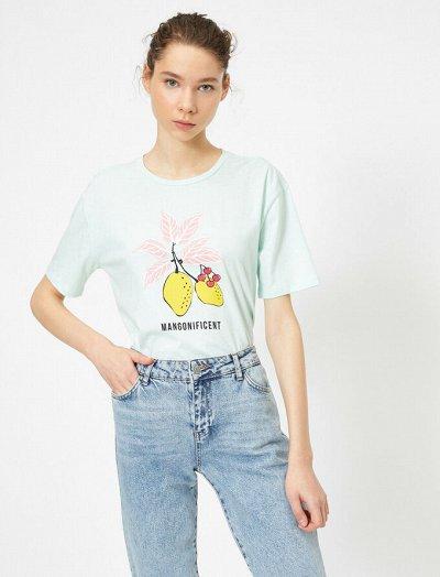 KOTON - Джинсы и футболки! — Футболки, блузы,  женские — Футболки и поло